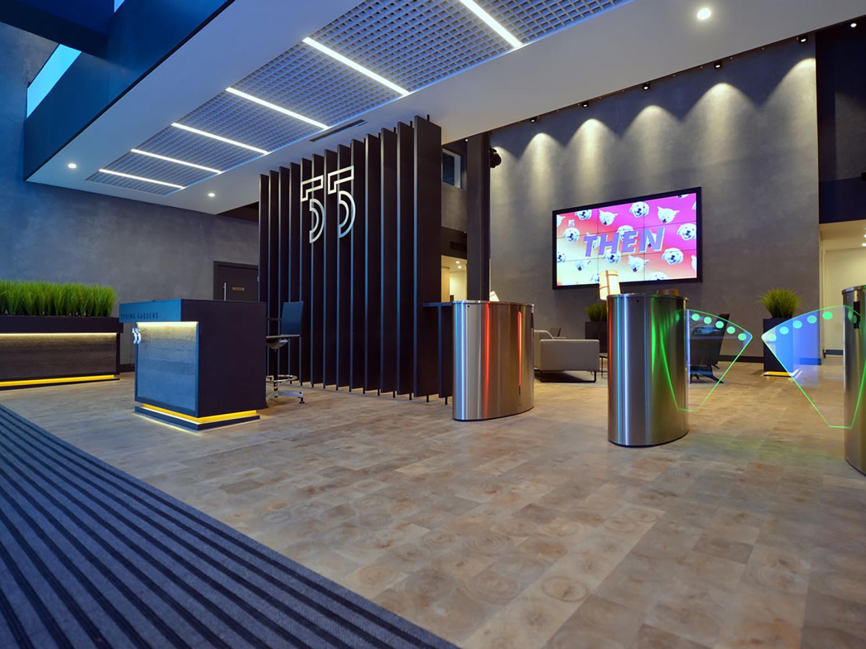 Signage and wayfinding – business interior