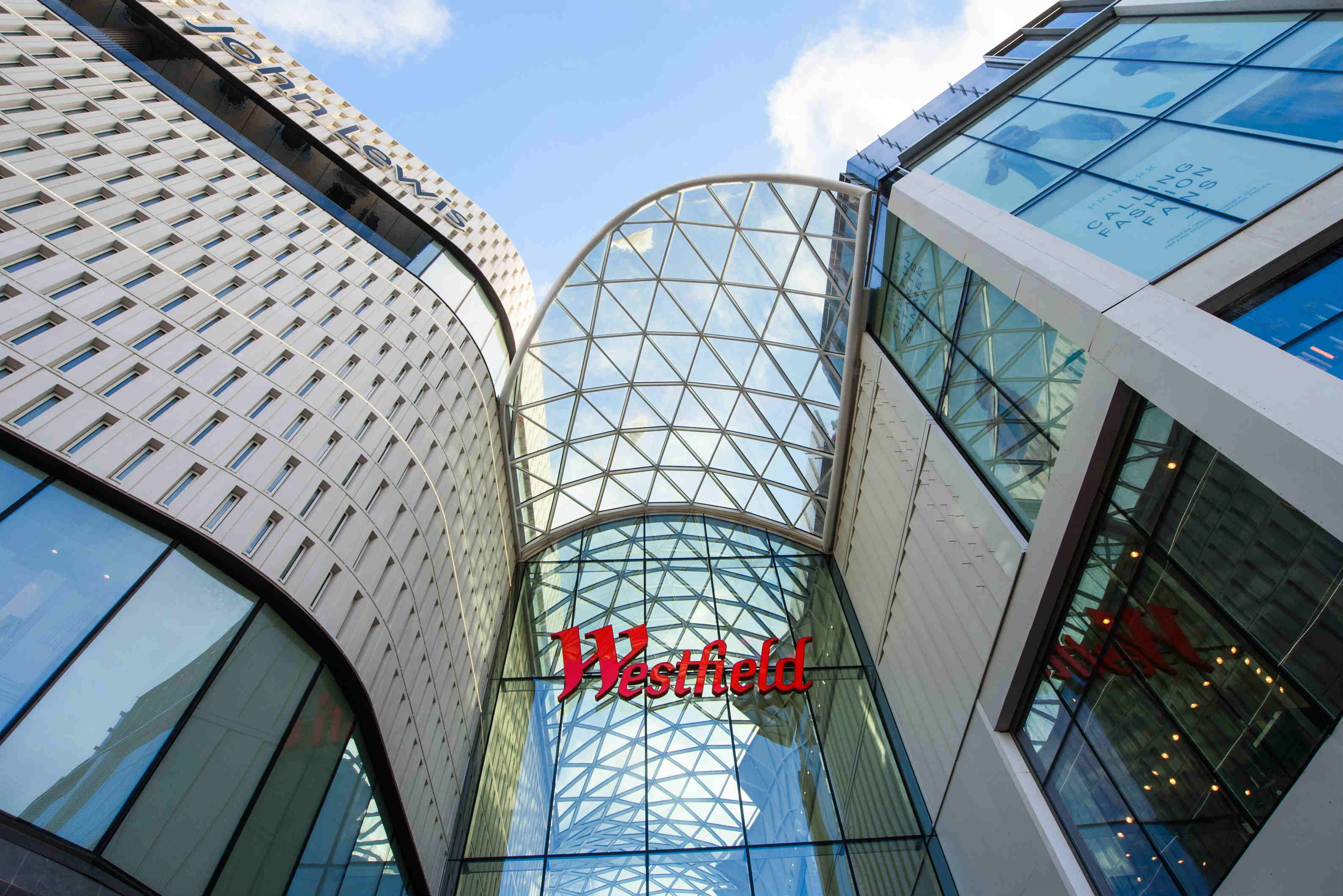 3d signage design – Westfield Shopping Centre
